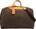 """Luxury Accessories:Bags, Louis Vuitton Classic Monogram Canvas Alize Bag. Good to VeryGood Condition. 21"""" Width x 16"""" Height x 6"""" Depth. ..."""