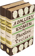 Books:Literature 1900-up, Theodore Dreiser. A Gallery of Women. New York: 1929. Firstedition.... (Total: 2 Items)