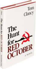 Books:Literature 1900-up, Tom Clancy. The Hunt for Red October. Annapolis: 1984. Second printing....