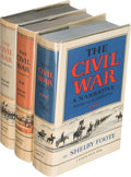 Books:Americana & American History, Shelby Foote. The Civil War... New York: [1958-1974]. Twofirst editions, one third printing.. ... (Total: 3 Items)