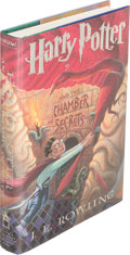 Books:Children's Books, J. K. Rowling. Harry Potter and the Chamber of Secrets. [NewYork]: 1999. First U. S. edition, signed....