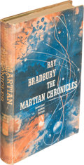 Books:Science Fiction & Fantasy, Ray Bradbury. The Martian Chronicles. Garden City: 1950.First edition, inscribed....