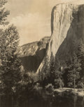 Photographs:Gelatin Silver, Ansel Adams (American, 1902-1984). El Capitan, Yosemite Valley, from the portfolio Parmelian Prints of the High Sierra...