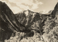 Ansel Adams (American, 1902-1984) Lower Paradise Valley, Southern Sierra, from the portfolio Parmeli