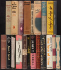 Books:Literature 1900-up, James T. Farrell. Group of Twenty-One Vanguard Books. New York:[1935-1957]. Largely first editions, some signed.... (Total: 21Items)