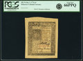 Colonial Notes:Delaware, Colony of Delaware January 1, 1776 4 Shillings Fr. DE-76. PCGS GemNew 66PPQ.. ...