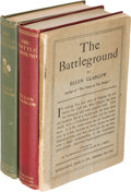 Books:Literature 1900-up, Ellen Glasgow. The Battle-Ground. New York: 1902. Firstedition, publisher's dummy and advance except.. ... (Total: 3Items)
