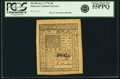 Colonial Notes:Delaware, Colony of Delaware January 1, 1776 20 Shillings Fr. DE-80. PCGSChoice About New 55PPQ.. ...