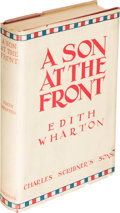 Books:Literature 1900-up, Edith Wharton. A Son at the Front. New York: Scribner's,1923. First U. S. edition....