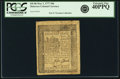 Colonial Notes:Delaware, Delaware State May 1, 1777 18 Pence Fr. DE-86. PCGS Extremely Fine40PPQ.. ...