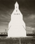 Photographs, Wright Morris (American, 1910-1998). Gano Grain Elevator, Western Kansas, 1940. Gelatin silver, printed later. 9-1/2 x 7...