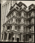 Photographs, Berenice Abbott (American, 1898-1991). Old Post Office, Broadway and Park Row, Manhattan, May 25, 1938. Gelatin silver c...