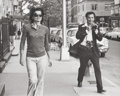 Photographs, Joy Smith (American, 20th Century). Jackie Onassis being followed by Ron Galella around her neighborhood (two photograph... (Total: 2 Items)