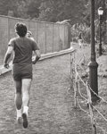Ron Galella (American, b. 1931) Jackie being chased (three photographs), October 4, 1971 Gelatin sil