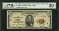 Fr. 1850-B* $5 1929 Federal Reserve Bank Note. PMG Very Fine 20