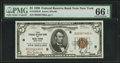Small Size:Federal Reserve Bank Notes, Fr. 1850-B $5 1929 Federal Reserve Bank Note. PMG Gem Uncirculated 66 EPQ.. ...