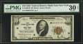 Small Size:Federal Reserve Bank Notes, Fr. 1860-B* $10 1929 Federal Reserve Bank Note. PMG Very Fine 30 EPQ.. ...