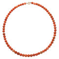 Estate Jewelry:Necklaces, Coral, Base Metal Necklace. . ...