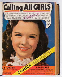 Calling All Girls Bound Volumes (Parents' Magazine Institute, 1941-49).... (Total: 9 Items)