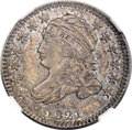 Bust Dimes, 1821 10C Small Date, JR-9, R.2, MS63 NGC....