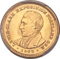 Commemorative Gold, 1905 G$1 Lewis and Clark Gold Dollar MS65 PCGS....