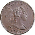 Large Cents, 1794 1C Head of 1794, S-26, B-16, R.2, XF45 Bland, XF45 Noyes; AU55 PCGS Secure. ...