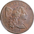 Large Cents, 1794 1C Head of 1794, S-30, B-12, R.1, AU50 Bland; AU55 PCGS Secure. ...