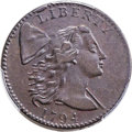 Large Cents, 1794 1C Head of 1794, S-34, B-20, High R.5, VF30 Bland, VF30 Noyes; XF45 PCGS Secure. ...