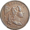 Large Cents, 1794 1C Head of 1794, S-38, B-25, R.5, VF35 Bland, VF35 Noyes; XF40 PCGS Secure. ...