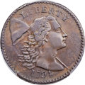 Large Cents, 1794 1C Head of 1794, S-51, B-42, Low R.5, VF25 Bland, VF25 Noyes; VF35 PCGS Secure. ...
