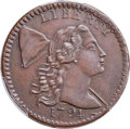 Large Cents, 1794 1C Head of 1794, S-63, B-37, R.2, XF45 Bland, VF35 Noyes; AU53 PCGS Secure. ...
