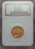 Indian Half Eagles: , 1912-S $5 AU58 NGC. NGC Census: (577/263). PCGS Population(182/220). Mintage: 392,000. CDN Wsl. Price for problem free NGC...