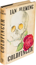 Books:Mystery & Detective Fiction, [James Bond]. Ian Fleming. Goldfinger. London: [1959]. Firstedition....