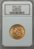 Liberty Eagles: , 1902-S $10 MS63 NGC. NGC Census: (1014/749). PCGS Population (835/636). Mintage: 469,500. CDN Wsl. Price for problem free N...
