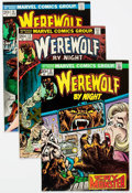 Bronze Age (1970-1979):Horror, Werewolf by Night Group of 27 (Marvel, 1973-77) Condition: AverageVF/NM.... (Total: 27 Comic Books)