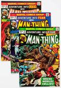 Bronze Age (1970-1979):Horror, Man-Thing and Fear Group of 12 (Marvel, 1973-75) Condition: AverageNM-.... (Total: 12 Comic Books)