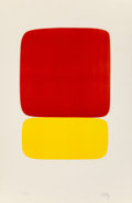 Prints, Ellsworth Kelly (1923-2015). Red over Yellow (Rouge sur jaune), from Suite of Twenty-Seven Color Lithographs, 1964-6...
