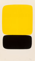 Prints, Ellsworth Kelly (1923-2015). Yellow over Black (Jaune sur noir), from Suite of Twenty-Seven Color Lithographs, 1964-...