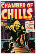 Golden Age (1938-1955):Horror, Chamber of Chills #6 (Harvey, 1952) Condition: FN....