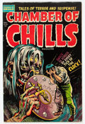 Golden Age (1938-1955):Horror, Chamber of Chills #20 (Harvey, 1953) Condition: FN....
