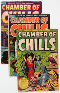 Golden Age (1938-1955):Horror, Chamber of Chills Group of 8 (Harvey, 1951-54) Condition: AverageGD.... (Total: 8 Comic Books)