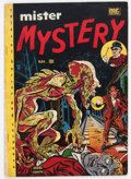 Golden Age (1938-1955):Horror, Mister Mystery #2 (Aragon, 1951) Condition: FN-....