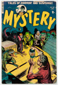 Golden Age (1938-1955):Horror, Mister Mystery #14 (Aragon, 1953) Condition: VG....