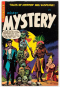 Golden Age (1938-1955):Horror, Mister Mystery #17 (Aragon, 1954) Condition: VG/FN....
