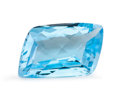 Gems:Faceted, Gemstone: Blue Topaz - 18.73 Ct.. Brazil. 19 x 13 x 7.8mm. ...