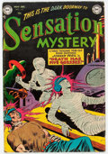 Golden Age (1938-1955):Horror, Sensation Mystery #112 (DC, 1952) Condition: FN+....