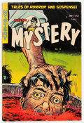 Golden Age (1938-1955):Horror, Mister Mystery #13 (Aragon, 1953) Condition: GD....