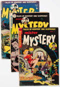 Golden Age (1938-1955):Science Fiction, Mister Mystery Group of 4 (Aragon, 1951-54) Condition: ApparentGD.... (Total: 4 Comic Books)