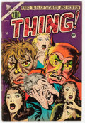 Golden Age (1938-1955):Horror, The Thing! #10 (Charlton, 1953) Condition: VG+....