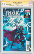 Modern Age (1980-Present):Superhero, Thor: God of Thunder #25 Wizard World Nashville Edition - SignatureSeries (Marvel, 2014) CGC NM/MT 9.8 White pages....